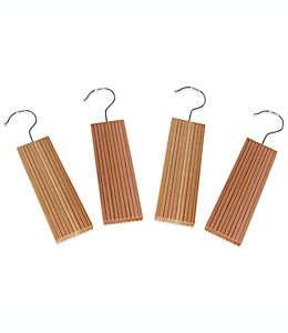 Household Essentials® Bloques de cedro aromático con esencia de lavanda para colgar