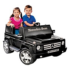 image of Kid Motorz Mercedes Benz G55 AMG 2-Seater 12-Volt Ride-On in Black