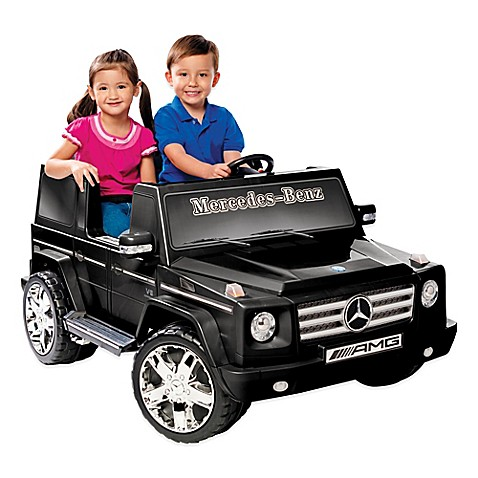 Buy kid motorz mercedes benz g55 amg 2 seater 12 volt ride for Mercedes benz two seater