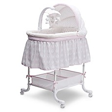 image of Simmons Kids® Lucia Deluxe Gliding Bassinet