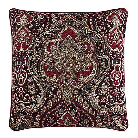 Queen Street Decorative Pillows : J. Queen New York Roma Square Throw Pillow - Bed Bath & Beyond