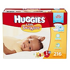 image of Huggies® Little Snugglers 216-Count Size 1 Diapers