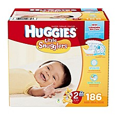 image of Huggies® Little Snugglers 186-Count Size 2 Diapers