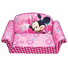 image of Spin Master™ Marshmallow Disney® Minnie's Bow-Tique Flip-Open Sofa
