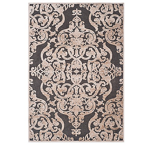 safavieh paradise collection venetian damask rug in stone