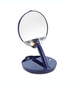 Espejo de bolso ajustable con luz Floxite 15X Mirror Mate™