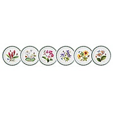 image of Portmeirion® Exotic Botanic Garden Assorted Salad Plates (Set of 6)