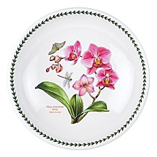 image of Portmeirion® Exotic Botanic Garden Large Moth Orchid Low Pasta Serving Bowl