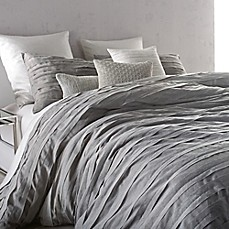 image of DKNY Loft Stripe Duvet Cover