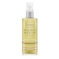 image of basq 4 oz. Resilient Body Stretch Mark Oil in Eucalyptus