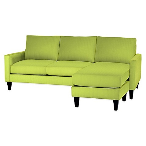 kyle schuneman for apt2b clark reversible chaise sofa bed bath and beyond sofa table bed bath and beyond sofa support