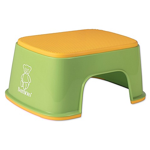 buy babybjorn children 39 s step stool in green from bed bath beyond. Black Bedroom Furniture Sets. Home Design Ideas