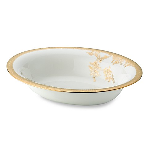 Vera Wang Wedgwood® Lace Gold Open Vegetable Bowl