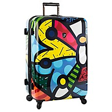 image of Heys® Britto Butterfly 30-Inch Upright Spinner Case