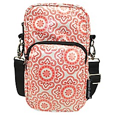 image of Diapees & Wipees® Laminated Hipster Bag in Cherry Medallion