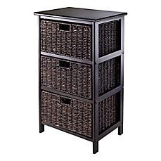 Shelving & Storage Units - Fabric Basket, Craft Storage Rack ...