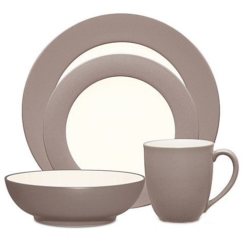 Noritake® Colorwave Rim Dinnerware Collection in Clay - Bed Bath ...