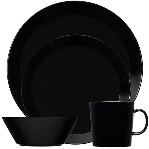 Iittala Teema Dinnerware in Black  sc 1 st  Bed Bath u0026 Beyond & Iittala Teema Dinnerware in Black - Bed Bath u0026 Beyond