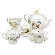 image of Lenox® Butterfly Meadow® 9-Piece Tea Set