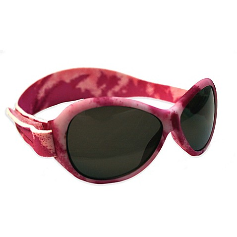 b45d0733260 Buy Baby Banz Retro Banz Infant Sunglasses in Pink Camouflage from Bed Bath    Beyond