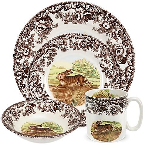 Spodeu0026reg; Woodland Rabbit Dinnerware Collection  sc 1 st  Bed Bath u0026 Beyond & Spode® Woodland Rabbit Dinnerware Collection - Bed Bath u0026 Beyond