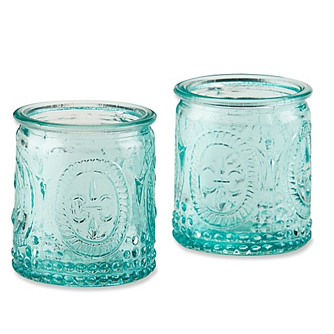 Find great deals on eBay for vintage blue glass candle holders. Shop with confidence.