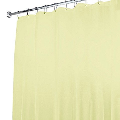 Buy 5 Gauge Shower Curtain Liner In Yellow From Bed Bath Beyond