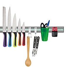 image of Bisbell 10-Piece Pro Magnetic Knife Rack Set
