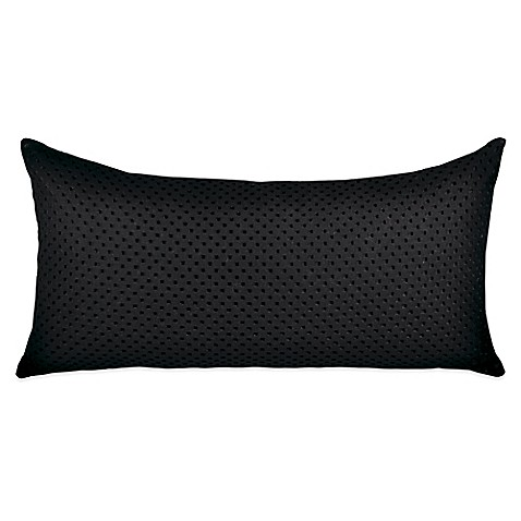All Black Throw Pillows : DKNY Transit Oblong Throw Pillow in Black - Bed Bath & Beyond