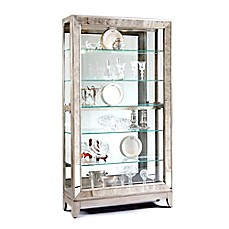 image of Pulaski Side Entry Curio in Platinum