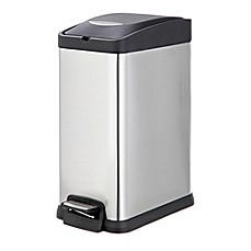 recycling trash cans for kitchen plastic stainless steel more bed bath beyond. Black Bedroom Furniture Sets. Home Design Ideas