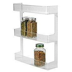 Image Of InterDesign® Cabinet Binz™ 3 Tier Wall Mount Spice Rack