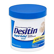 image of Desitin® Rapid Relief Creamy 16 oz. Diaper Rash Cream