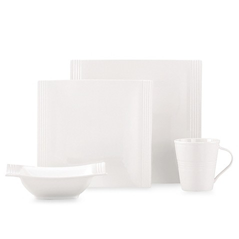 Lenox® Tin Can Alley® Square 4-Piece Place Setting