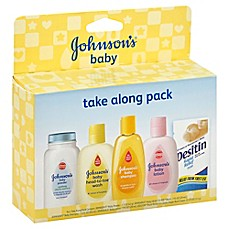 image of Johnson & Johnson® Baby Take Along Trial Pack