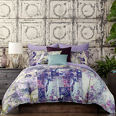 tracy porter® poetic wanderlust® kit comforter set in purple - bed