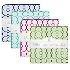 image of Swaddle Designs® Mod Circles Ultimate Swaddle