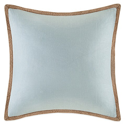 Brown Linen Throw Pillow : Buy Linen Square Throw Pillow in Brown from Bed Bath & Beyond