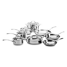 image of Calphalon® Tri-Ply Stainless Steel 13-Piece Cookware Set
