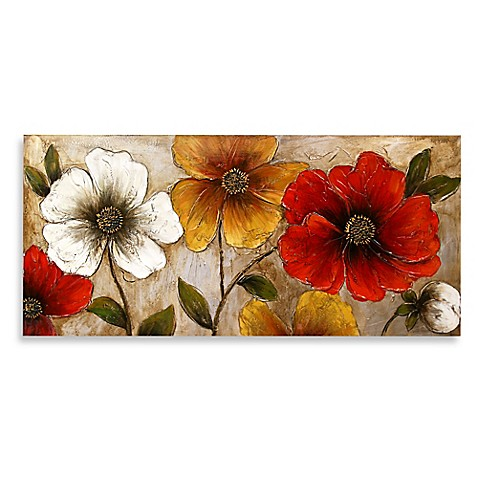 floral & botanical wall art - bed bath & beyond