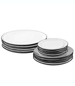 Separadores de platos de fieltro SALT™, 36 piezas