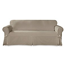 High Quality Sure Fit® Designer Twill Furniture Slipcovers