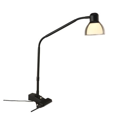image of Studio 3B™ Functional LED Clip Lamp in Matte Black