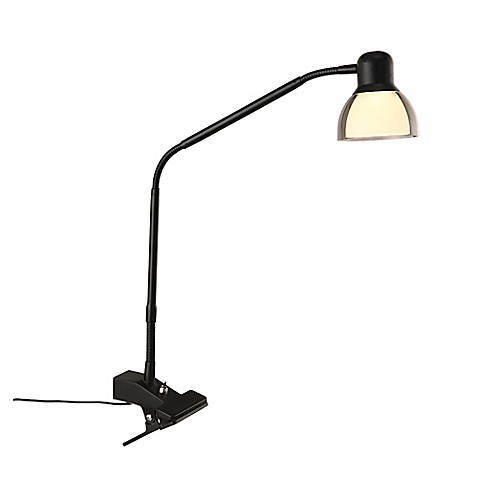 Studio 3B trade  Functional LED Clip Lamp in Matte Black. Studio 3B  Functional LED Clip Lamp in Matte Black   Bed Bath   Beyond