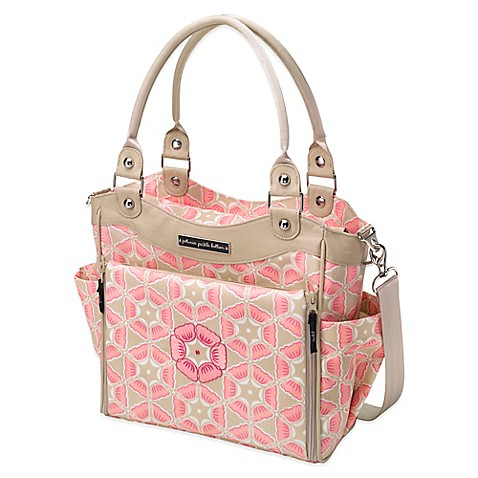 petunia pickle bottom city carryall in blooming in brixham buybuy baby. Black Bedroom Furniture Sets. Home Design Ideas