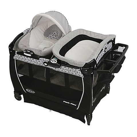 image of Graco® Pack u0027n Play® Playard Snuggle Suite™ LX in Sutton  sc 1 st  Bed Bath u0026 Beyond & Baby Play Yards Portable Beds u0026 Travel Cribs - Bed Bath u0026 Beyond