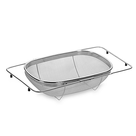 Lovely SALTu0026trade; Expandable Over The Sink Stainless Steel Strainer