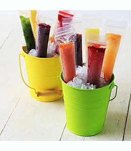 Zipzicle® Bolsas de plástico para congeladas, Set de 18