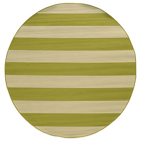 10 Foot Round Indoor Outdoor Rug