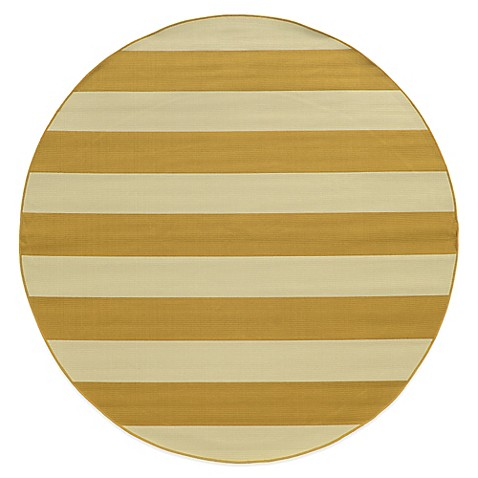 Buy Oriental Weavers Riviera Stripe 7 Foot 10 Inch Round
